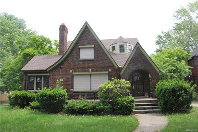 Detroit Single Family Home For Sale: 3560 Kensington Avenue