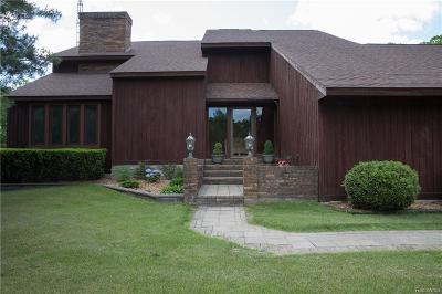 Holly Single Family Home For Sale: 16325 Matdell Lane