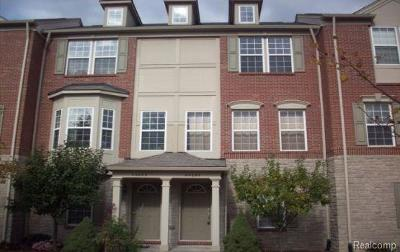 Novi Condo/Townhouse For Sale: 44697 Ellery Lane