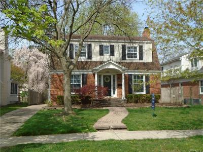 Birmingham Single Family Home For Sale: 1146 Henrietta Street