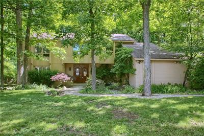 West Bloomfield, West Bloomfield Twp Single Family Home For Sale: 3154 Shadydale Lane