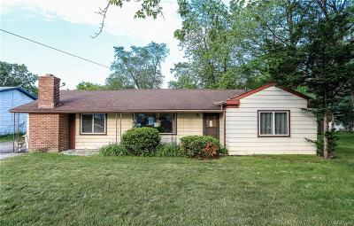 West Bloomfield, West Bloomfield Twp Single Family Home For Sale: 4041 Haggerty Road
