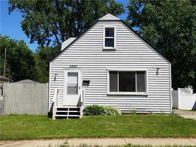 Taylor MI Single Family Home For Sale: $84,700
