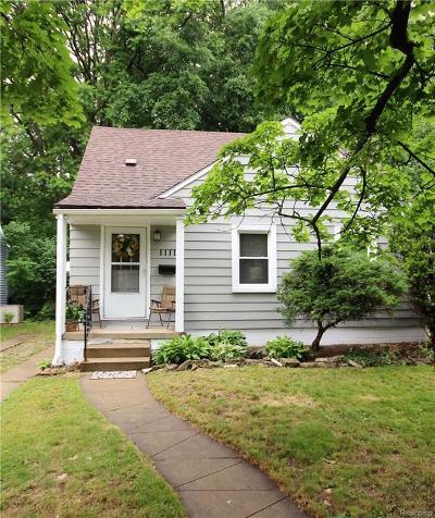 Royal Oak Single Family Home For Sale: 1111 Grove Avenue