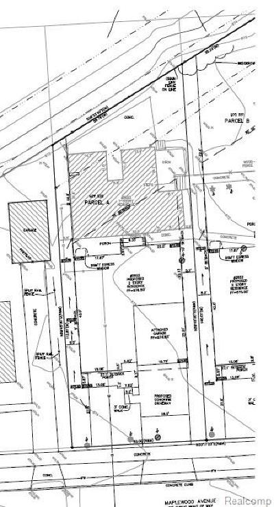 Royal Oak Residential Lots & Land For Sale: 2622 Maplewood Avenue