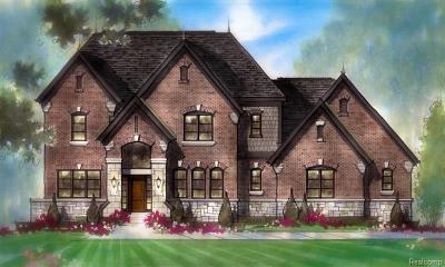 Bloomfield Twp Single Family Home For Sale: 6990 Holiday Drive Drive
