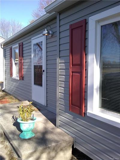 Huron Twp Single Family Home For Sale: 30310 W Huron River Drive