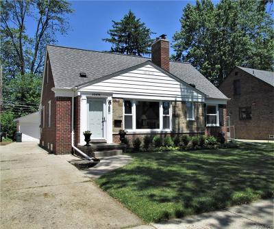 Huntington Woods Single Family Home For Sale: 10474 Kingston Avenue