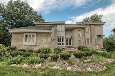 West Bloomfield, West Bloomfield Twp Single Family Home For Sale: 6666 Torybrooke Circle