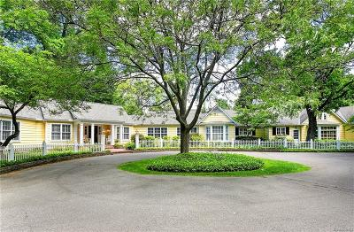 Bloomfield Hills Single Family Home For Sale: 760 Lone Pine Road