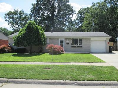 Taylor Single Family Home For Sale: 22035 Bernard Street