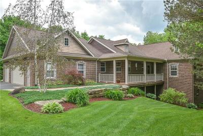 Brandon Twp Single Family Home For Sale: 177 Howland Pines Drive