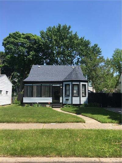 Detroit Single Family Home For Sale: 20520 Five Points Street