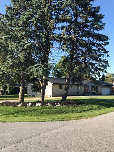 Van Buren Twp Single Family Home For Sale: 44540 Harmony Lane