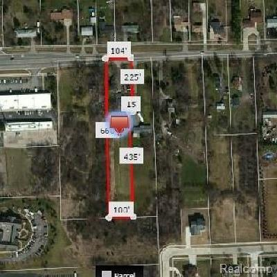 Troy Residential Lots & Land For Sale: 1839 South Boulevard W