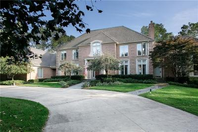 Bloomfield Twp Single Family Home For Sale: 5065 Lone Pine Lane