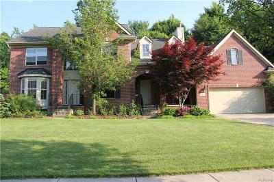 Wixom Single Family Home For Sale: 3481 Castlewood Court