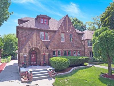 Detroit Single Family Home For Sale: 17166 Parkside Street