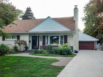 Rochester MI Single Family Home For Sale: $719,000