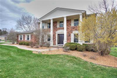 Rochester Hills Single Family Home For Sale: 680 Brookwood Lane E