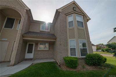Sterling Heights MI Condo/Townhouse For Sale: $124,999