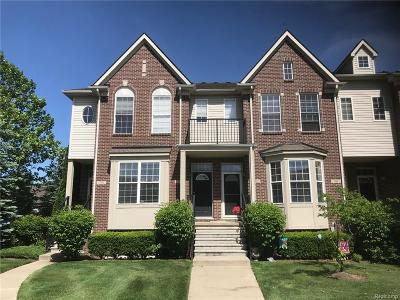 Westland Condo/Townhouse For Sale: 778 Summerfield Drive