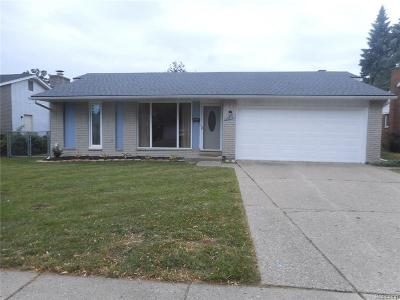 Livonia Single Family Home For Sale: 35975 Scone Street