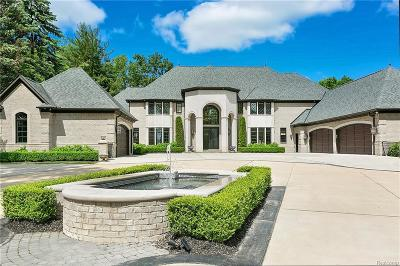 Bloomfield Twp Single Family Home For Sale: 1640 Dell Rose Drive