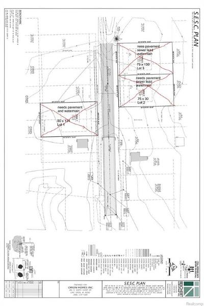 Troy Residential Lots & Land For Sale: 0002 Cherry