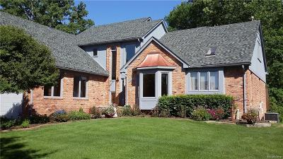 Single Family Home For Sale: 3068 Voorheis Lake Court