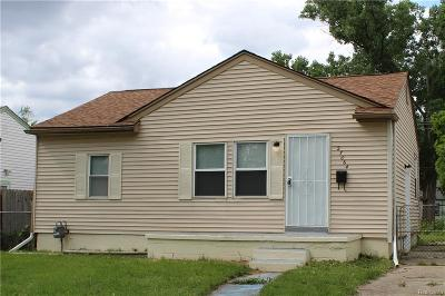 Inkster Single Family Home For Sale: 27064 Notre Dame Street