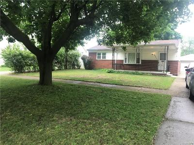 Romulus Single Family Home For Sale: 34581 Wick Road