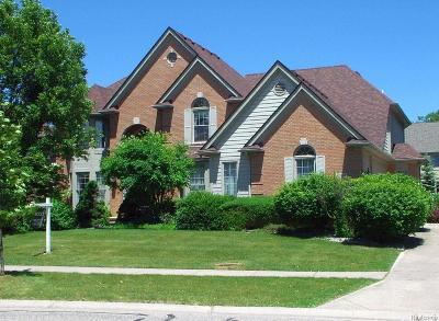 Rochester Hills Single Family Home For Sale: 2068 Mapleridge Road