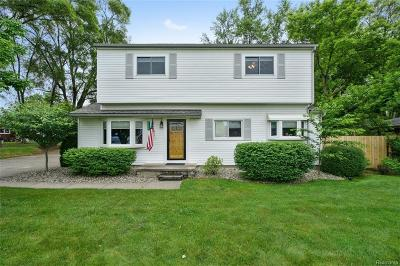 Rochester, Rochester Hills, Shelby Twp Single Family Home For Sale: 4760 23 Mile Road