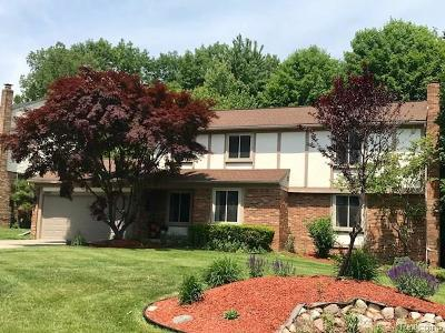 Farmington Hills Single Family Home For Sale: 38602 Lancaster Drive