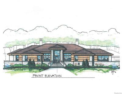 Bloomfield Twp Single Family Home For Sale: 2719 Turtle Ridge Drive