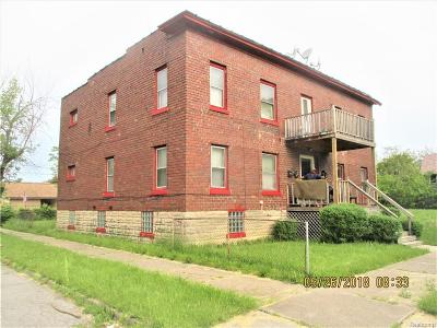 Detroit Multi Family Home For Sale: 5203 25th Street