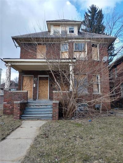 Macomb County, Oakland County, Wayne County Single Family Home For Sale: 28 Pilgrim Street