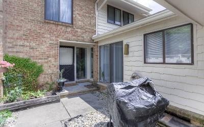 West Bloomfield, West Bloomfield Twp Condo/Townhouse For Sale: 7125 Pebble Park Drive