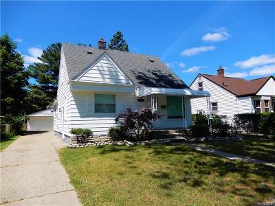 Dearborn Single Family Home For Sale: 3030 Geneva Street