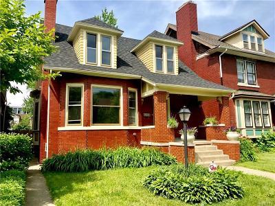 Detroit Single Family Home For Sale: 1495 Seyburn Street