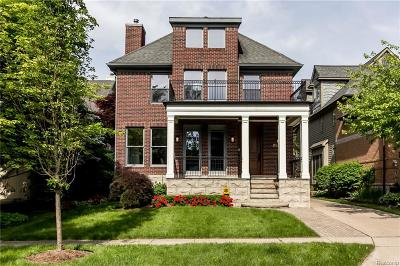 Birmingham MI Single Family Home For Sale: $1,599,000