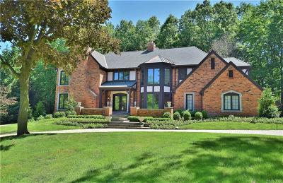 Bloomfield Hills Single Family Home For Sale: 329 Pine Ridge Drive