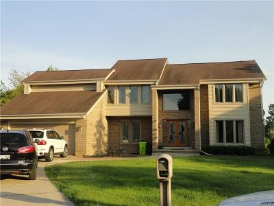 West Bloomfield Twp Single Family Home For Sale: 5495 Kingsway Court