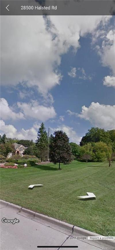 Farmington Hills Residential Lots & Land For Sale: Halsted - Parcel A