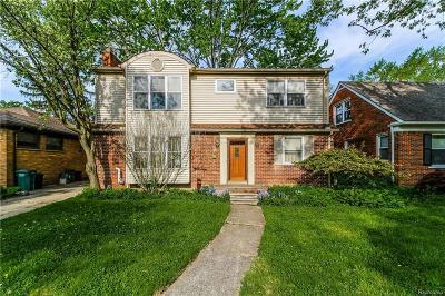 Huntington Woods Single Family Home For Sale: 26345 Humber Street