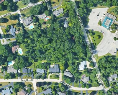 Bloomfield Twp Residential Lots & Land For Sale: 7280 Wing Lake Road