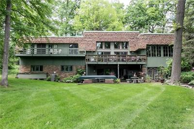 Bloomfield Twp MI Single Family Home For Sale: $1,100,000