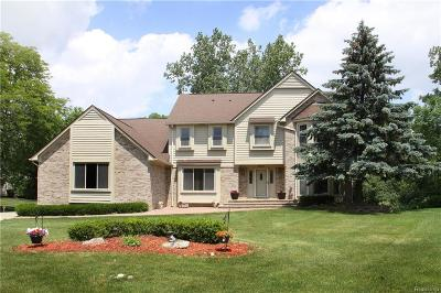 West Bloomfield, West Bloomfield Twp Single Family Home For Sale: 5015 Redwood Court