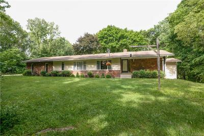 Milford Twp Single Family Home For Sale: 2468 Brandywine Road